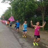 无锡跑吧三周年庆东蠡湖24小时接力跑最后一棒及闭幕式