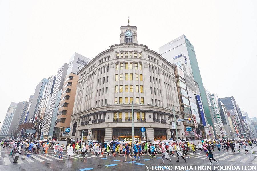 东京马拉松 2020