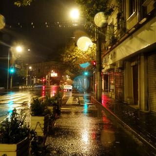 凌晨的街道