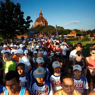 蒲甘寺庙马拉松 Bagan Temple Marathon