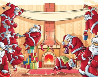 钻石小鸟2015欢乐逐鹿圣诞跑