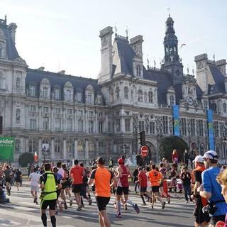 2016巴黎马拉松