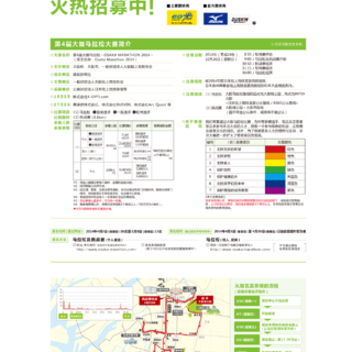 大阪马拉松2014