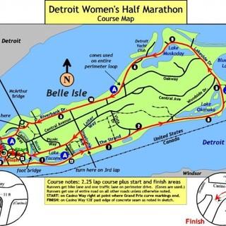 底特律女子半程马拉松 Detroit Women's Half Marathon
