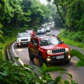 Jeep极致酷跑4X4全地形环岛接力赛
