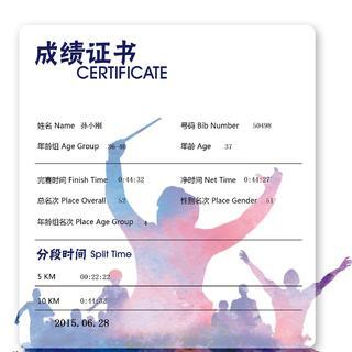 欢乐跑中国证书20150628