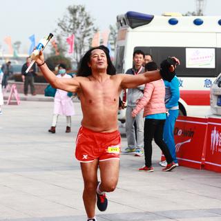 2014 嵩山少林马拉松赛
