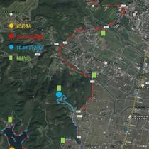 龍五公益路跑路線圖