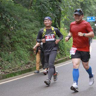红牛垂直马拉松----暨Salomon半程马拉松