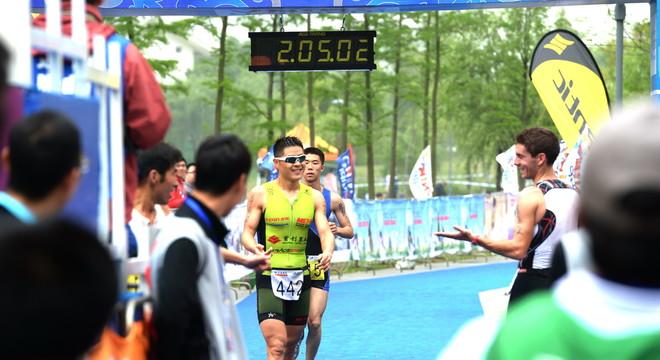2014镇江国际铁人三项赛(跑步赛段和终点)