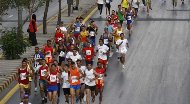 11-13年安曼马拉松赛事照片