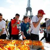 2014巴黎马拉松官方照片