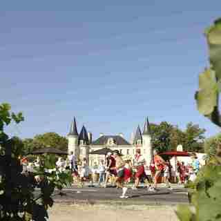 2014 波尔多梅铎红酒马拉松