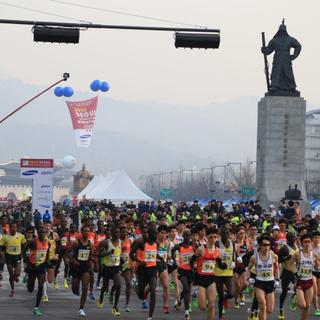 2015首尔国际马拉松