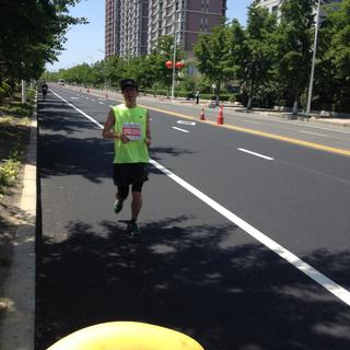 2015丹东鸭绿江国际马拉松赛
