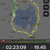 四明湖跑步拉练