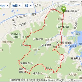 2014年Salomon国际团队中国区选拔赛杭州站