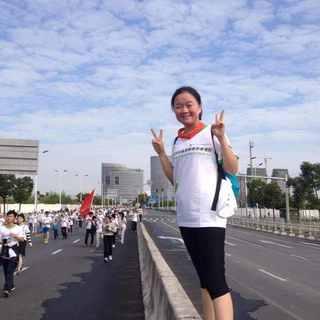2014上海市安利纽崔莱健康慈善慢跑
