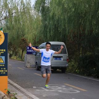 """2015""""招商银行金葵花杯""""黄岩绿道公益跑"""