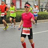 2015上海国际马拉松34公里处(挑选)