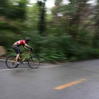 长春净月潭森林山地自行车马拉松