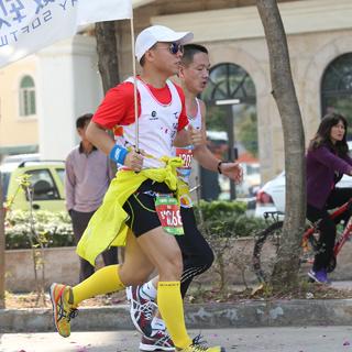 2016深圳大鹏新年马拉松
