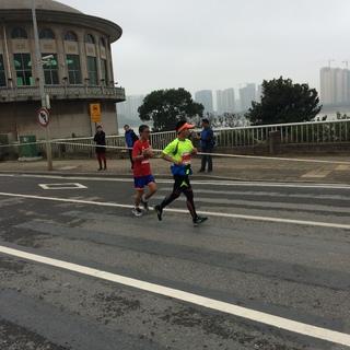 长沙马拉松2016-36公里后10:35——11:08