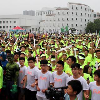 2015 Halo Run贵人鸟发光跑温州站