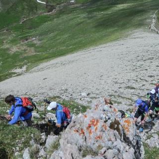 萨洛蒙楚格峰越野跑