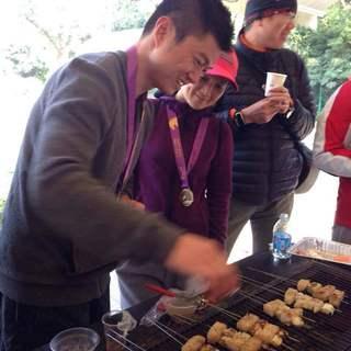 清华大学马约翰杯校园马拉松赛(上海站)异城同跑迎校庆活动