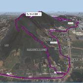 树山山地半马路线图爬升信息