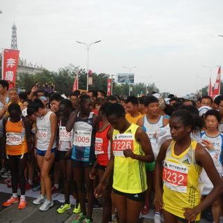 宁夏黄河金岸国际马拉松赛