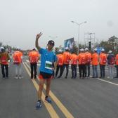 扬州2016国际半马1小时36分完曾。