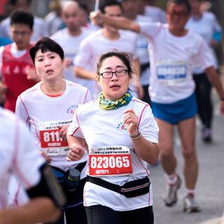 2015高邮大运河越野半程马拉松