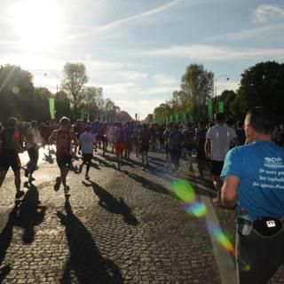 2015巴黎马拉松