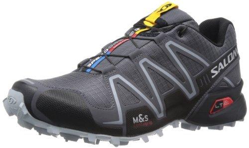 Salomon 萨洛蒙 男 越野跑鞋SHOES SPEEDCROSS 3 DARK CLOUD/BLACK/ON