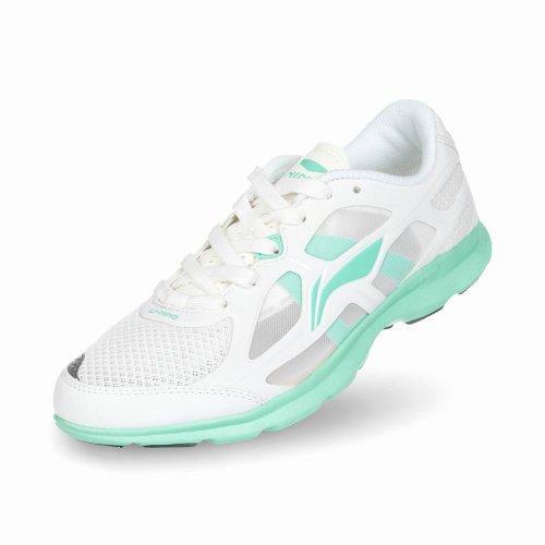 Li Ning 李宁 正品运动鞋 新款女鞋超轻十代Take Down版+碳纤维束紧带+减重40% 轻质耐磨跑步鞋女式鞋慢跑鞋