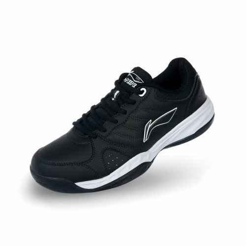 Li Ning 李宁 正品运动鞋 新款男鞋ProBarLoc/足弓支撑+ProBarLoc科技 Tennislegend基础网球鞋男式鞋