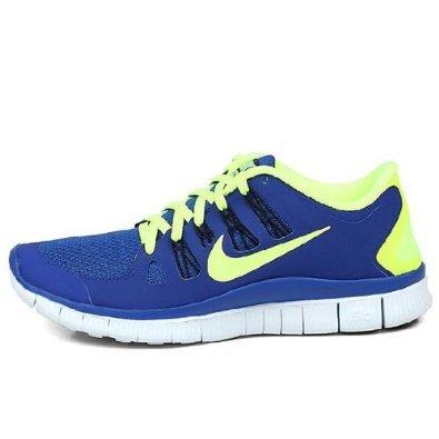 Nike 耐克 2013新款男子透气FREE 5 赤足跑步鞋 579959-470 蓝