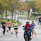 2015复旦大学江湾半程马拉松接力赛第一棒