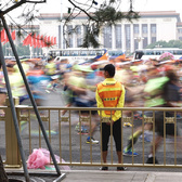 2016北京马拉松赛前赛后花絮