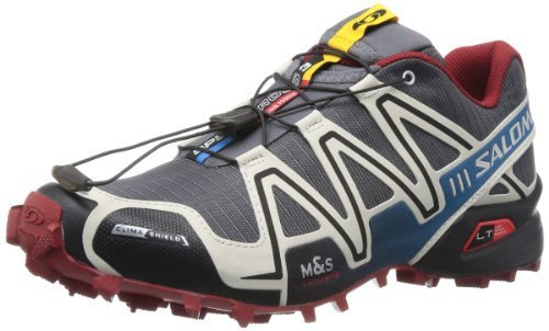 Salomon 萨洛蒙 男 越野跑鞋SHOES SPEEDCROSS 3 CS DARK CLOUD/GY/FLEA