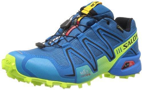 Salomon 萨洛蒙 男 跑步鞋SHOES SPEEDCROSS 3 GTX® DARKNESS B/BL/YE