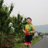 儿童骑跑 by 明明