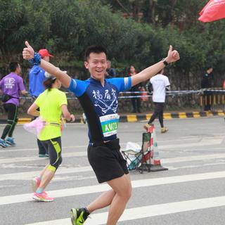 2016清远马拉松19k,41k及终点