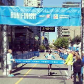 2014温哥华马拉松
