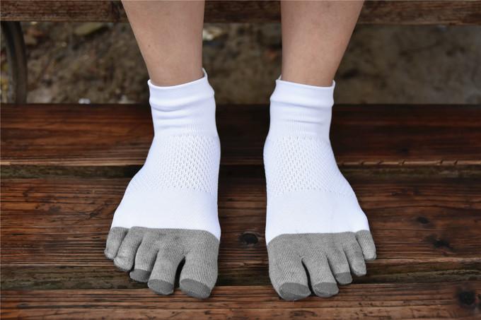 马拉松分脚趾袜