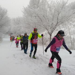 雅玛里克山冰雪越野跑