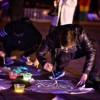 """2016 """"做最耀眼的星 点亮九龙湖""""荧光夜跑活动"""