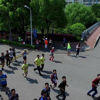 """""""我要跑""""首届交大长跑节暨第五届校园跑邀请赛"""